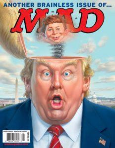 trump illustration mad mag