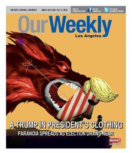 trump la weekly
