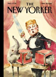 trump newyorker illustration