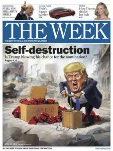 trump self destruction