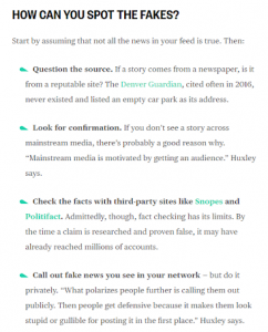 fake news recommendations   media literacy clearinghouse how to spot fake news in your social media feed nbc
