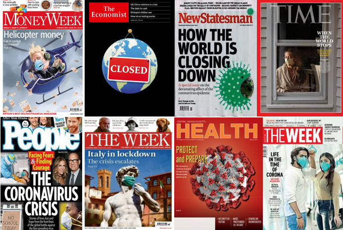 Pandemic Magazine Covers Media Literacy Clearinghouse